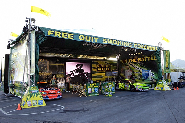 2007 Nicorette Trackside Display_Small