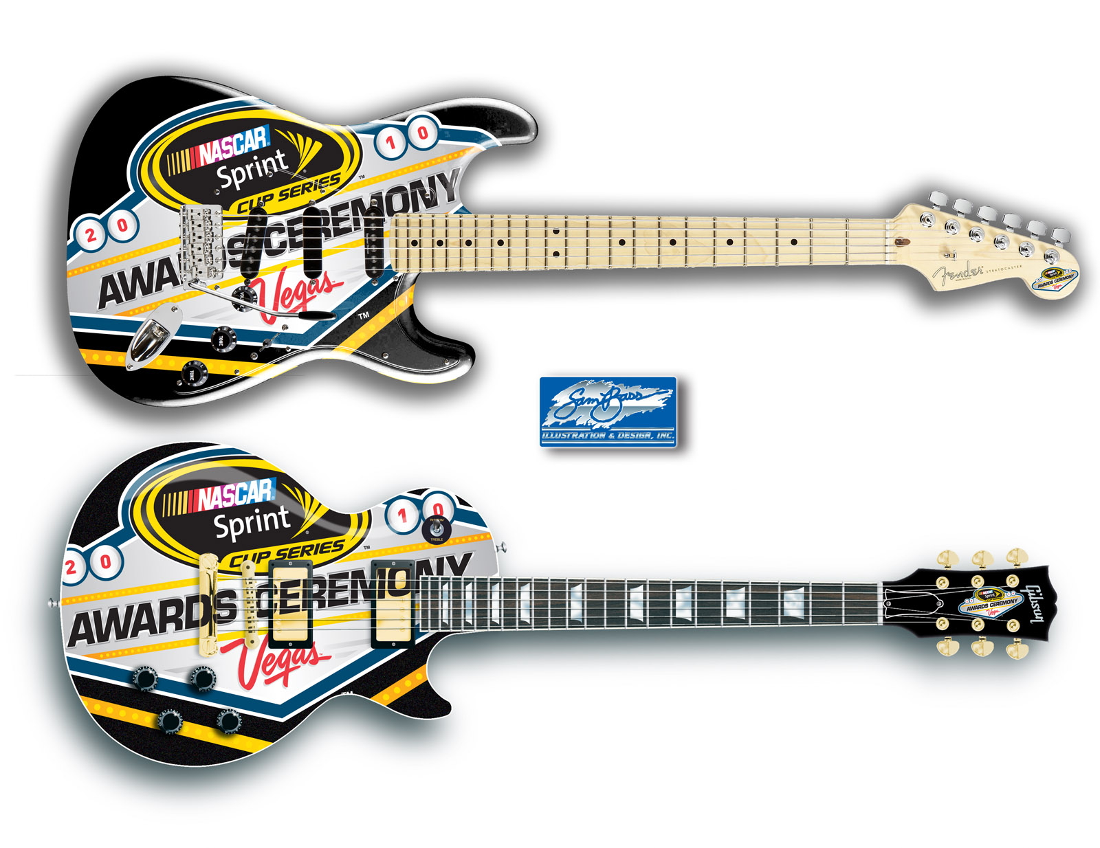 2010 Les Paul and Stratocaster Sprint Cup Awards