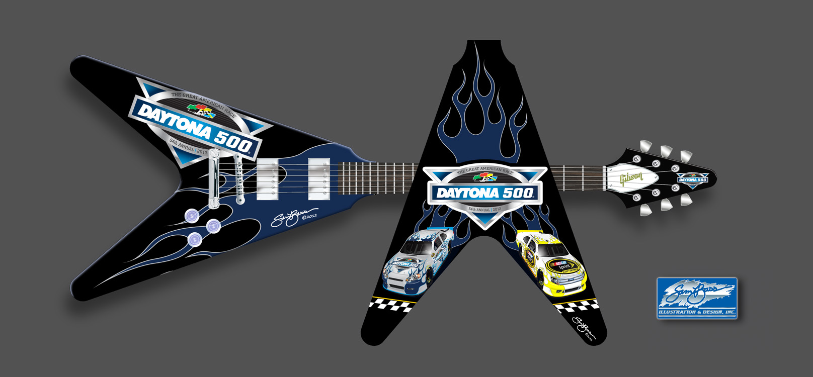 2012 Daytona 500 Flying V