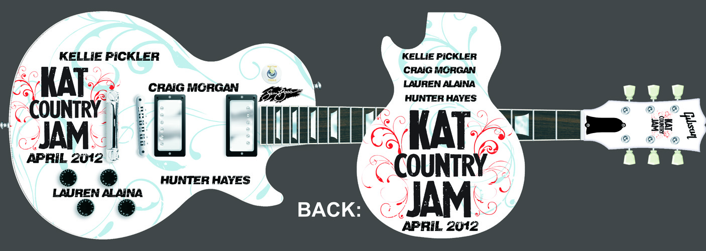 2012 Kat Country Jam Guitar