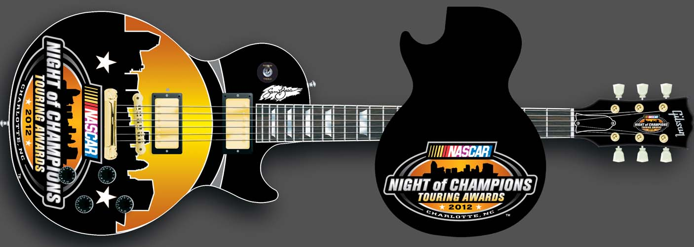 2012 Night of Champions Awards Ceremony Guitar