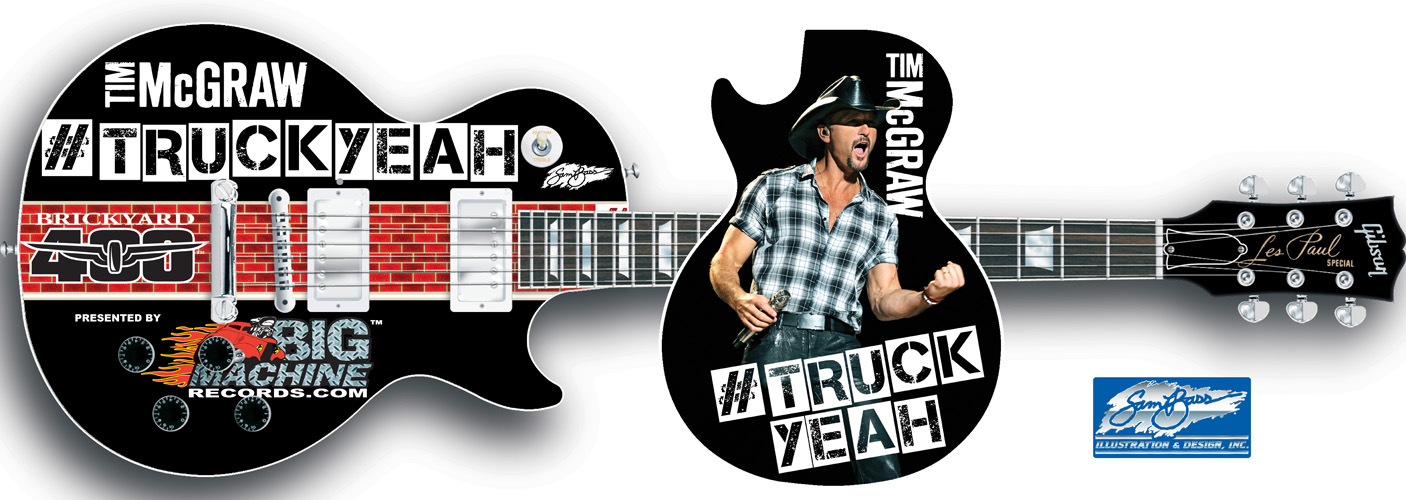 2012 Tim McGraw Les Paul