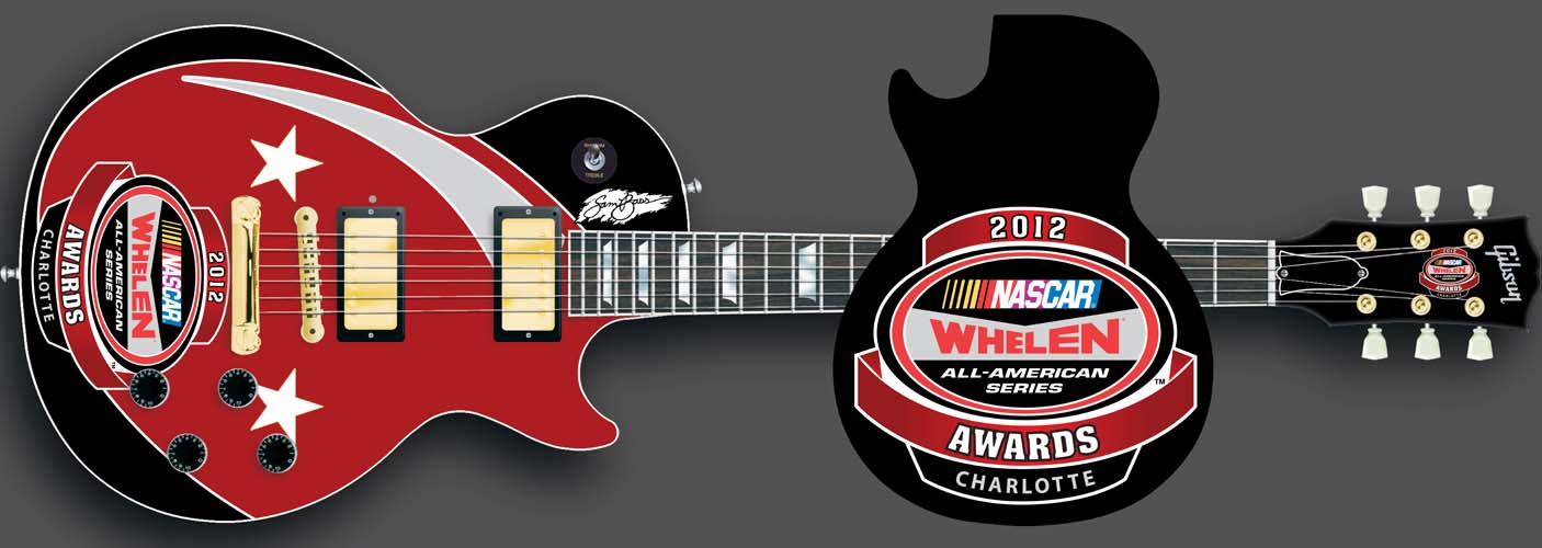 2012 Whelen Awards Ceremony Guitar