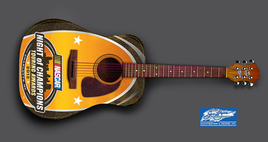 2013 Night of Champions Guitar Acoustic 1