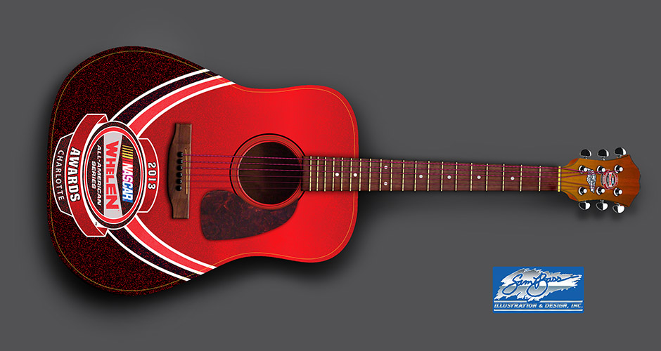 2013 Whelen Awards Guitar Acoustic