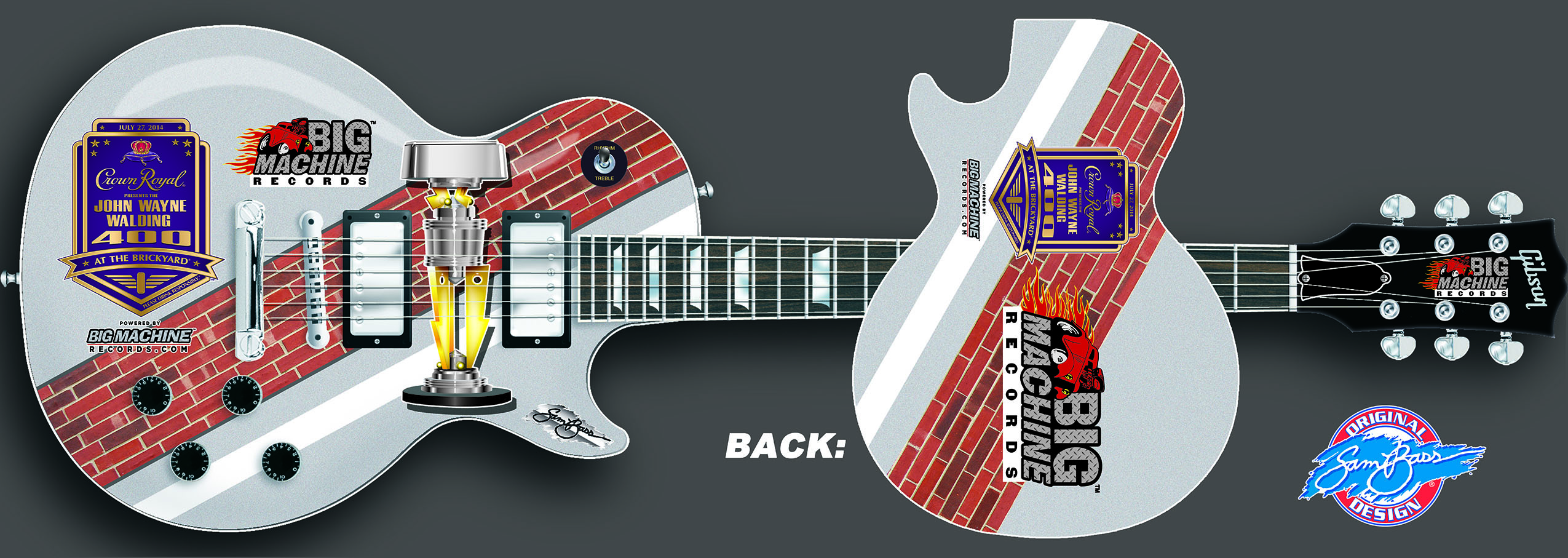 2014 Brickyard 400 Guitar
