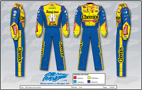 06 Bobby Labonte Cheerios Uniform Rev 2A