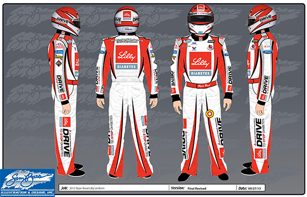 2013 Ryan Reed Lilly Uniform Final Revised